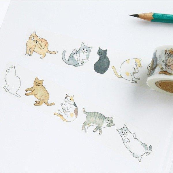 Christmas Cat DIY Handmade Birthday Gift Ayaco And Paper Tape 3