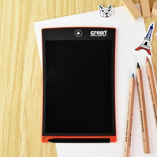 [Send Cover] Green Board 8.5吋Electronic Cardboard Graffiti Board (Enthusiastic Red)