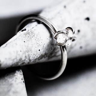 Anatta Herkimer Diamond Ring