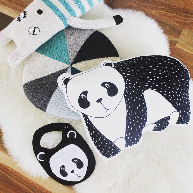 Mister Fly animal shape pillow - Panda PANDA MFLY011