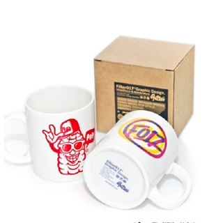 Three primaries & POPCorn MUG 玉米人馬克杯