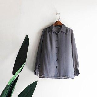 埼玉小碎小格纹文艺恋少女 antique silk-spun gauze shirt top shirt