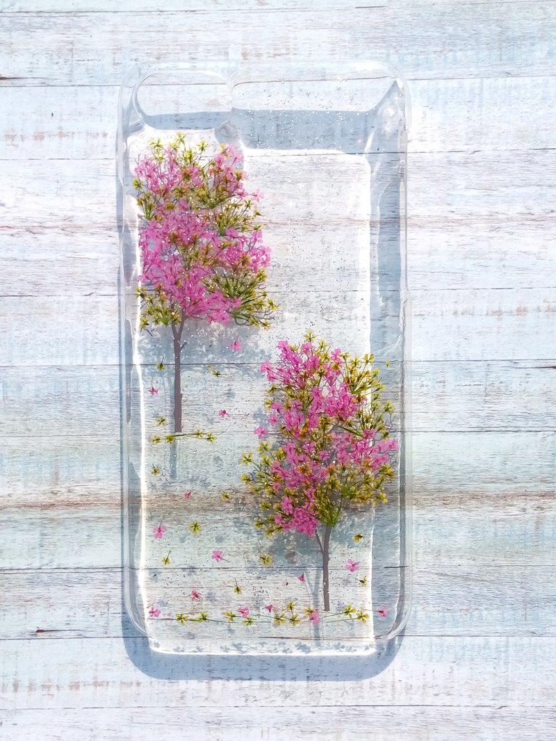 wholesale dealer b2a21 3f144 Pressed flower phone case, iPhone 8 plus, iPhone 7 plus, B loom