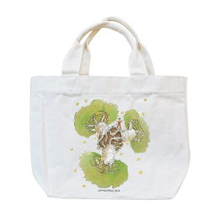 Little Prince classic version of the license - small Tote package: [猢 狲 bread tree], AA06