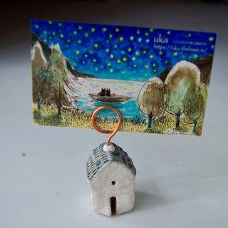 little fairy house card stand
