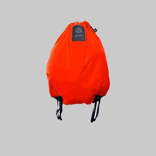 grion waterproof bag - back section (L) orange
