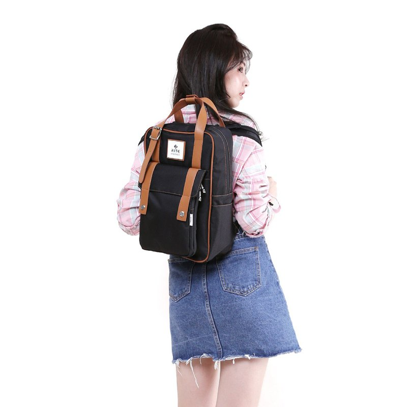 [Twin Series] 2018 Advanced Edition - Roaming Backpack - Black (Chinese)
