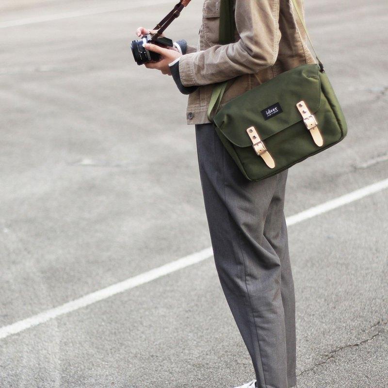 HUNTER Series HUNTER 190 Army Green Waterproof Nylon Single-lens Reflex Camera  Bag - Designer ideer  0fb044a392e68