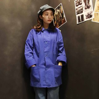 Tsubasa.Y Antique House Work Shirt A13 Work Shirt, Work Shirt Blue Collar Jacket