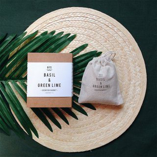 [BITS Plant Fragrance Bag] Sweet Basil & Green Lime