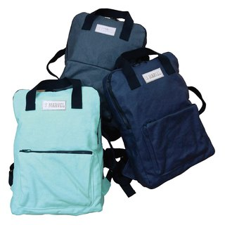【Is Marvel】Simple style fashion dual-use backpack
