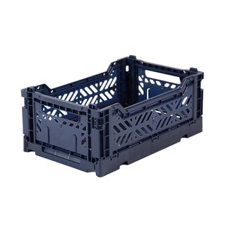 Turkey Aykasa Folding Storage Basket (S) - Navy Blue