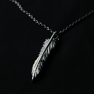 // haus // handmade silver feather freedom