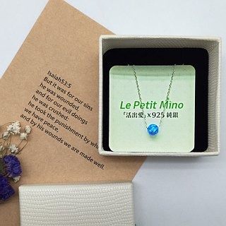 Planet Clavicle Necklace Silver Platinum-Clad Opal Pendant Mothers Day Gifts