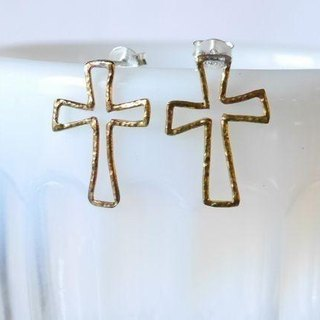 ★ resale ★ Cross Pierce (brass)