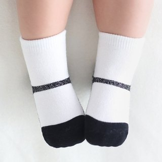 Happy Prince Shining Pearl Mary Jane Baby Socks Made in Korea