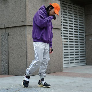 HWPD │ Warrior Captain Mitchell images - Shoulder Braces Cap Tee Purple (see Off-White / Yeezy / Justin Bieber)