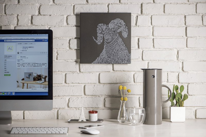 羚羊-鋁合金裝飾板-特仕版 Decor Board AL6061