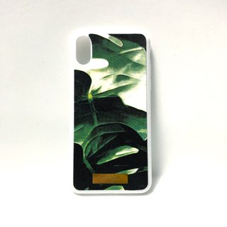 Cloth phone case - Tropical Garden (Iphone X spot in the picture)