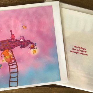 The Starkeeper greeting card
