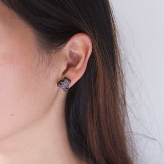 Bear wooden earring ( 925 sterling silver studs) one per purchase