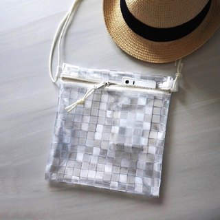 Cubic Transparent plastic bag Sacoshbag