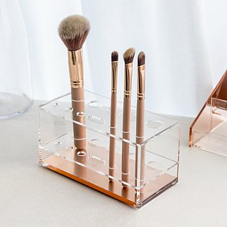 New rose gold beauty brush storage rack (12 grids)