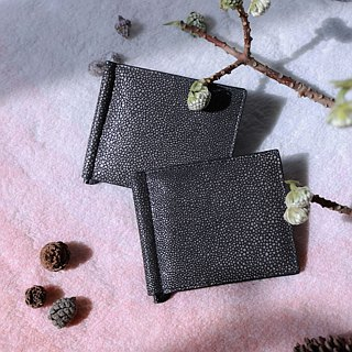 *LIMITED EDITION* | Fission | Embossed leather | Unisex | Note Clip Wallet