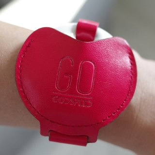 GOstrap - Vital Red - GOGORO Leather Key Bracelet