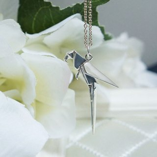 GT Parrot Sterling Silver Necklace