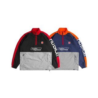 Filter017 FLTR Cassette Series-Track Pullover/Water Repellent Sports Blouse