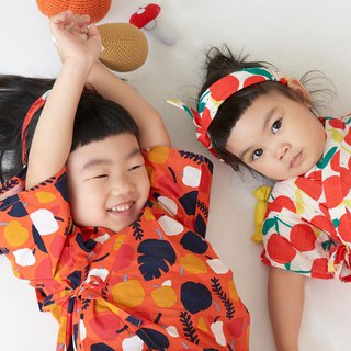Cherry - Summer Children's Japanese Flat / Bathrobe # 3 models