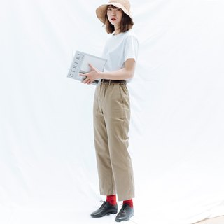 Hao Khaki Pocket Trousers Khaki Pocket Trousers