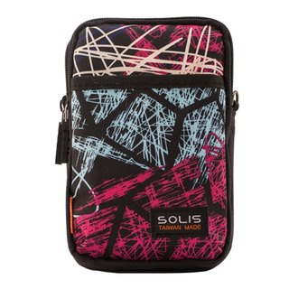"SOLIS Celebration Series 5.5"" mobile phone multi-purpose bag(Graffiti Peach)"