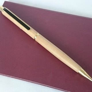 Indian Cairn sandalwood pen [general automatic pencil] exquisite leather pencil case gift wrap