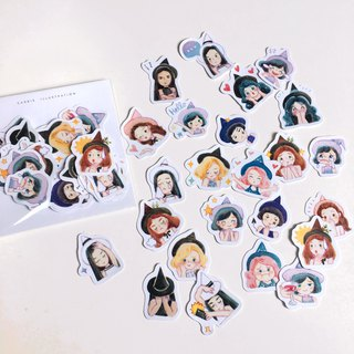 Daily Witches Stickers Pack 24pcs