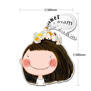 Stick together / big sheet / luggage decoration stickers / about dreams