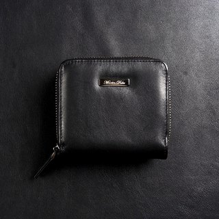 Martin Duke Leather Purse Black