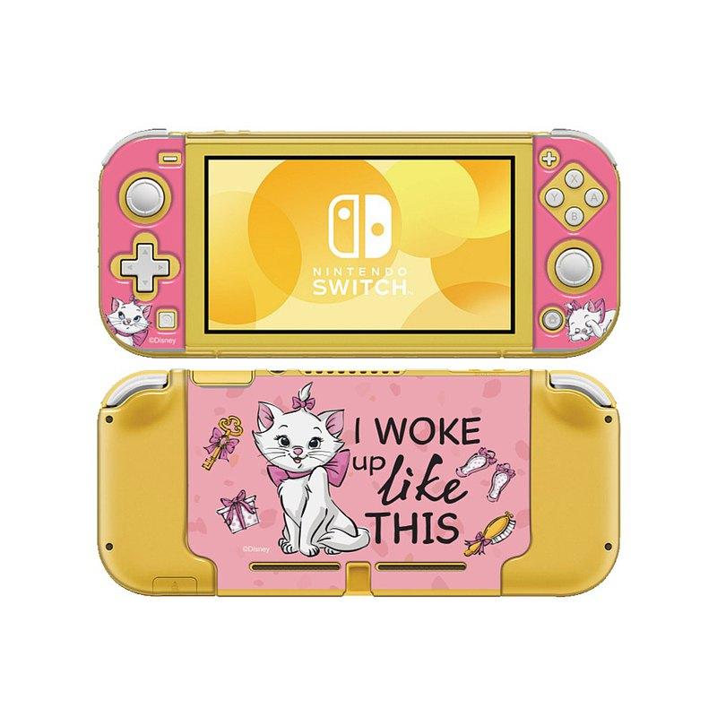 【Hong Man】迪士尼系列 任天堂Switch Lite保護殼 瑪莉貓