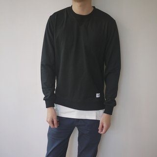Fake Layer Sweater/cotton/pullover