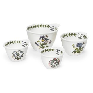 Portmeirion Botanic Garden Measuring Cups Set of 4