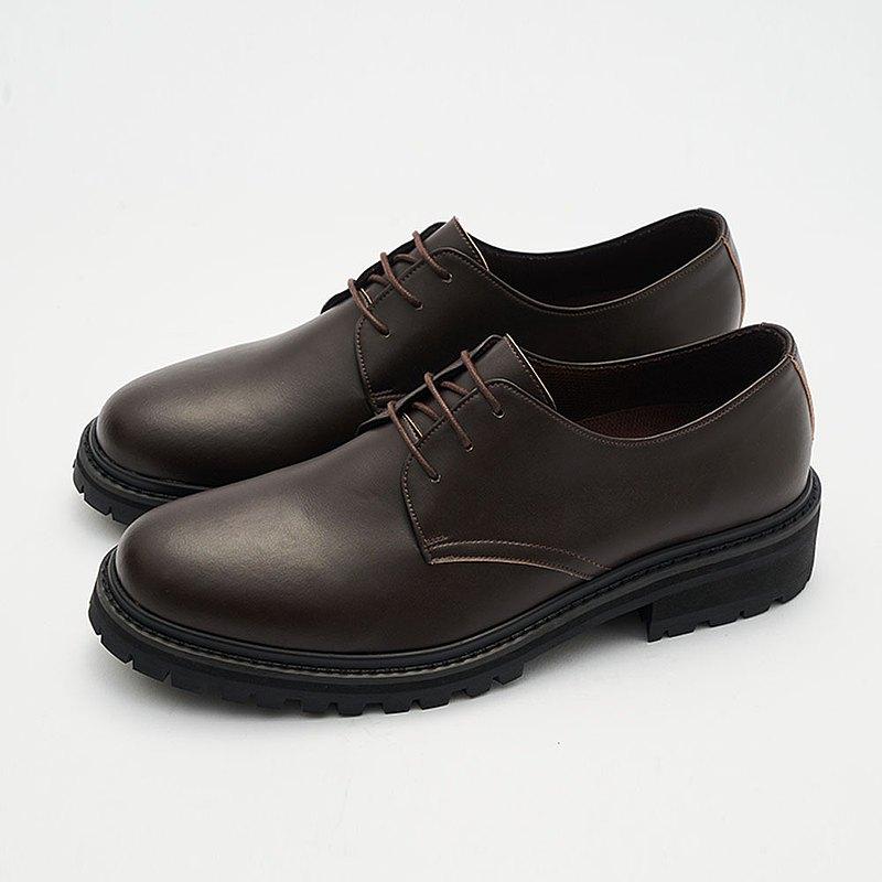 Gullar 三孔馬丁男鞋-素食皮鞋(深咖啡色)