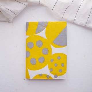 Nordic color block handmade book / book cover (notebook / diary / PDA)