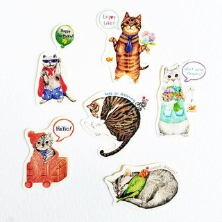 Kitten sticker pack