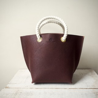 JAPAN Tochigi Leather Floor Leather Tote Bag mare S Bitter Brown