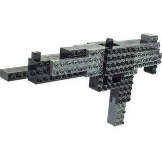 """JEKCA plot card Variety building blocks"" submachine gun"