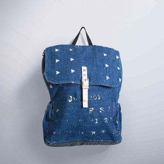 Zipper backpack number