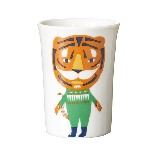 Tiger bone china cup | Donna Wilson