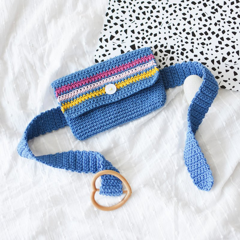 Summer Fresh Crochet Belt bag