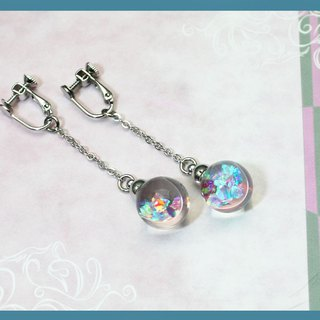 New Illusory World Rainbow Fragment Series Earrings